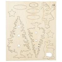 Maak en Versier je Houten Kerst Figuren
