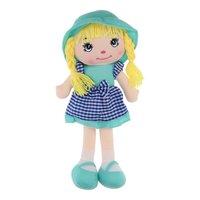 Lappenpop Meisje - Blauw