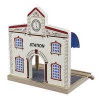 Houten Rails - Treinstation
