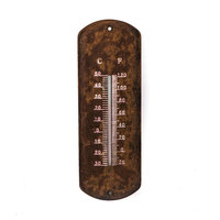 Buitenthermometer Roest