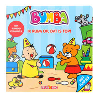 Bumba Kartonboek - Ik ruim op, dat is top!