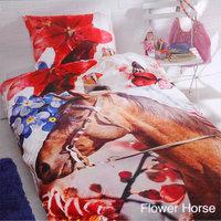 Dekbedovertrek Flower Horse