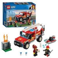 LEGO City Town 60231 Reddingswagen van Brandweercommandant
