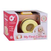 Classic World Mijn Eerste Houten Camera