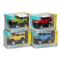 Die-cast Pull Back Jeep