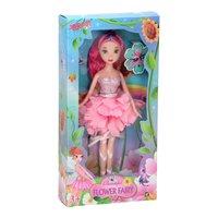 Pop Bloemenmeisje - Roze, 24cm