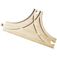 Houten Rails - T-splitsing