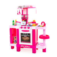 Kinderkeuken Roze met Licht en Geluid