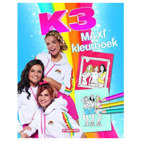 K3 Maxi Kleurboek