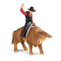 Schleich - Cowboy met Stier