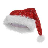 Kerstmuts Glitter Sterren