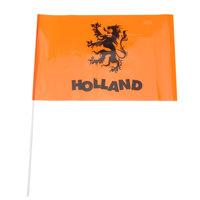 Vlag Holland op Stok