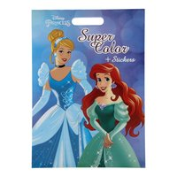 Disney Prinses Super Color Kleurboek XXL met Stickers