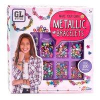 Maak je eigen Metallic Armbanden