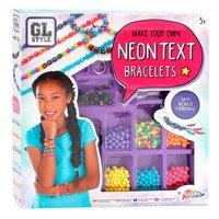 Maak je eigen Neon Letter Armbanden
