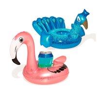 Bestway Drijvende Bekerhouder Flamingo/Pauw