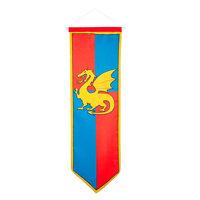 Ridder Banner - Blauw/Rood