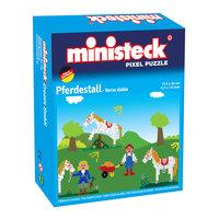 Ministeck Pixel Puzzel - Paardenstal