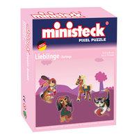 Ministeck Pixel Puzzel - Lievelingsdieren