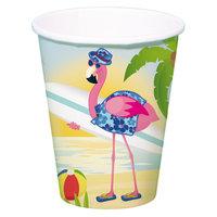 Bekers Flamingo, 8st.