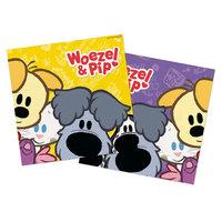Woezel & Pip Servetten, 20st.