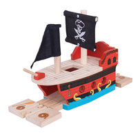 Houten Rails - Piratenschip