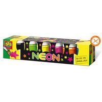 SES Plakkaatverf Neon, 6 Kleuren