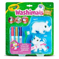 Washimals Duopack - Neushoorn en Nijlpaard