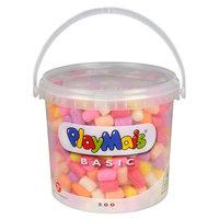 PlayMais Basic Emmer 5 Liter Roze (> 500 Stukjes)