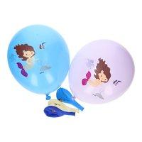 Ballonnen Zeemeermin, 5st.