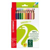 STABILO Green Box - 12 Kleuren