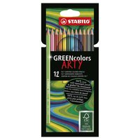 STABILO GREENcolors Kleurpotloden ARTY, 12st.