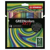 STABILO GREENcolors Kleurpotloden ARTY, 24st.