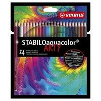 STABILO Aquacolor Kleurpotloden ARTY, 24st.