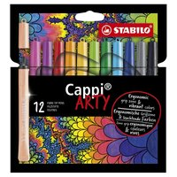 STABILO Cappi Viltstiften ARTY, 12st.