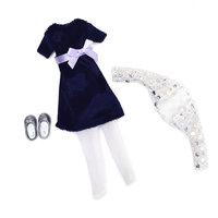 Lottie Accessoires Blue Velvet Outfit