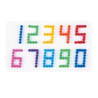 Hama Strijkkralenbordje - Nummers