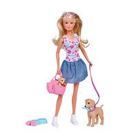 Steffi Love Puppy Uitlaten