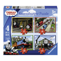 Thomas de Trein Puzzel, 4in1