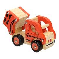 Houten Kiepauto Oranje