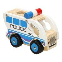 Houten Politieauto