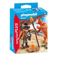 Playmobil 9442 Neanderthaler met Sabeltandtijger