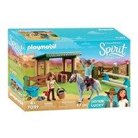 Playmobil Spirit 70119 Arena met Lucky en Javier