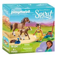 Playmobil Spirit 70122 Pru met Paard en Veulen