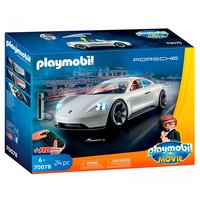 Playmobil the Movie 70078 Rex Dasher's Porsche Mission E