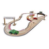Eichhorn Porsche Houten Race Set , 31dlg.
