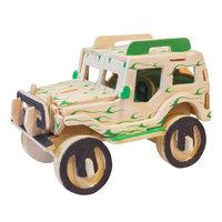 Houten Bouwpakket - Jeep