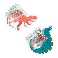Notitieboek Dinosaurus met Gelpennen