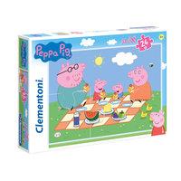 Clementoni Maxi Puzzel Peppa Pig, 24st.