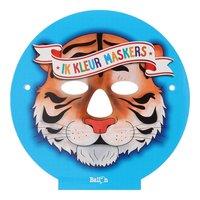 Ik Knutsel en Speel - Ik Kleur Maskers Dieren